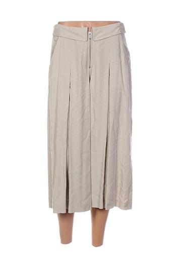 irene van ryb shorts / bermudas femme de couleur beige