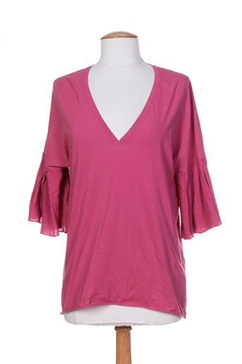 devotion t-shirts femme de couleur rose