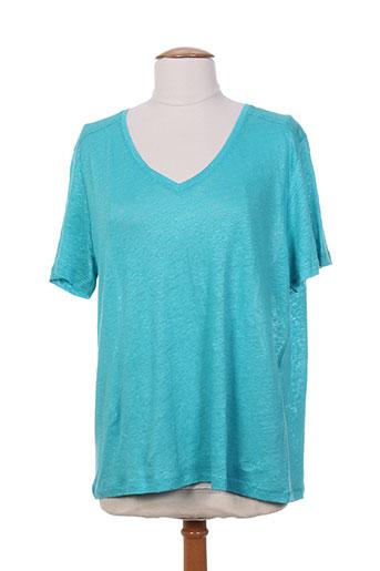 escorpion t-shirts femme de couleur bleu