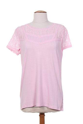 escorpion chemises femme de couleur rose
