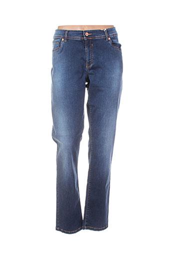 cmk jeans femme de couleur bleu