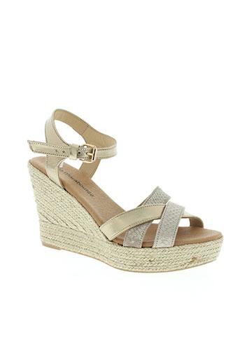 la fee maraboutee chaussures femme de couleur beige