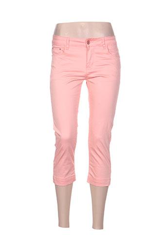 onado pantacourts femme de couleur rose
