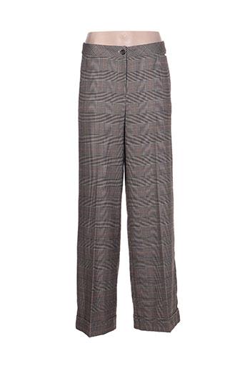 scee pantalons femme de couleur gris