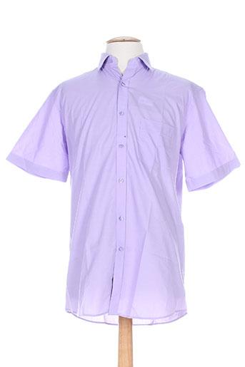 louis victor chemises homme de couleur violet