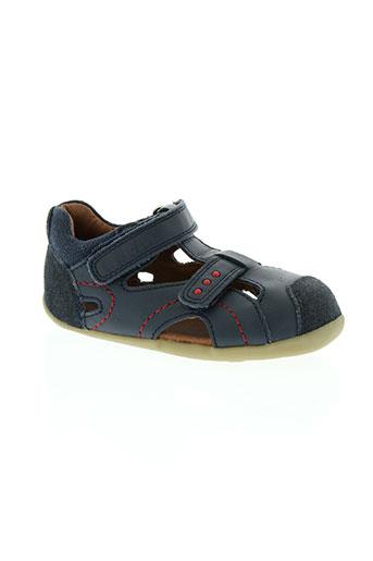 bobux chaussures garçon de couleur bleu