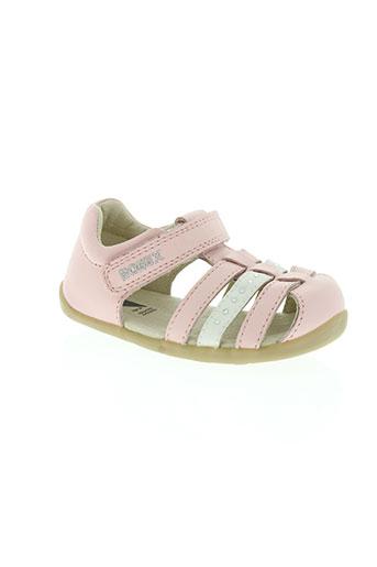 bobux chaussures fille de couleur rose