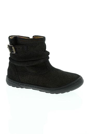 shoo pom chaussures fille de couleur noir