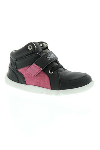 bobux chaussures garçon de couleur noir