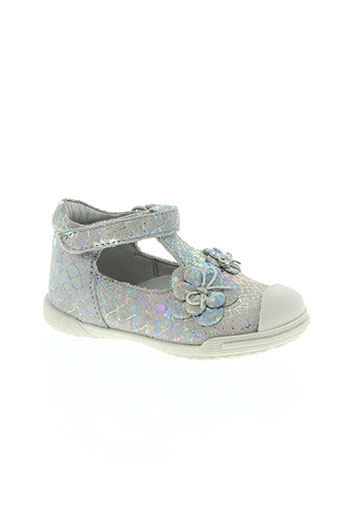 mod 8 chaussures fille de couleur gris