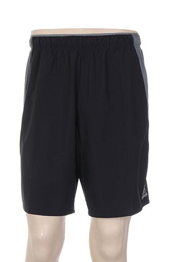 reebok shorts / bermudas homme de couleur noir
