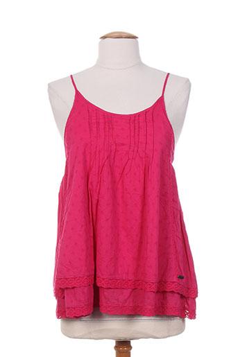 banana moon chemises femme de couleur rose