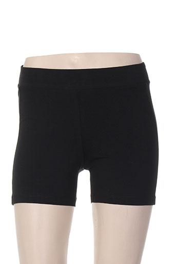 only play shorts / bermudas femme de couleur noir