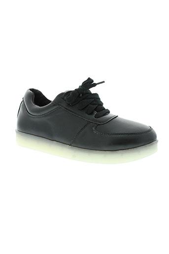 star fashion chaussures fille de couleur noir