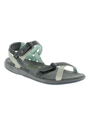 regatta chaussures femme de couleur gris