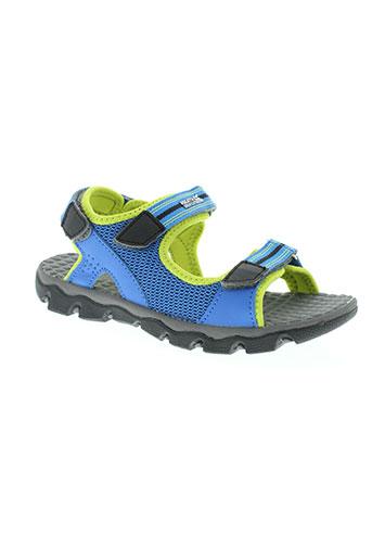 regatta chaussures garçon de couleur bleu