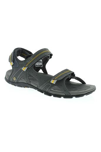 hi-tec chaussures homme de couleur gris