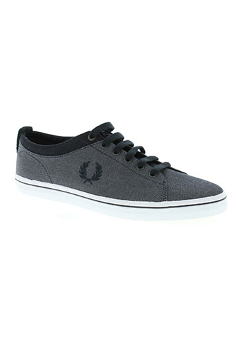 fred perry chaussures homme de couleur gris