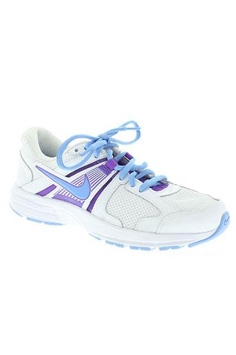 nike chaussures femme de couleur bleu