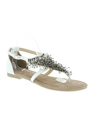 mustang chaussures femme de couleur beige