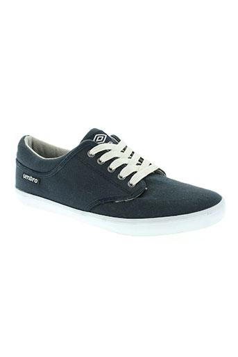umbro chaussures homme de couleur bleu
