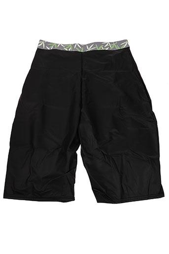 body one shorts / bermudas homme de couleur noir
