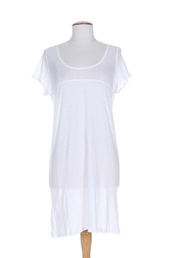 divertimento jupes femme de couleur blanc