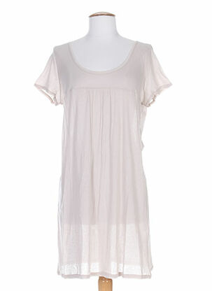 Jupon /Fond de robe beige DIVERTIMENTO pour femme