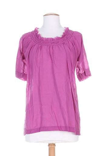 not shy chemises femme de couleur violet