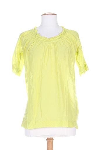 not shy chemises femme de couleur vert