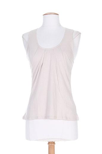 divertimento t-shirts femme de couleur beige