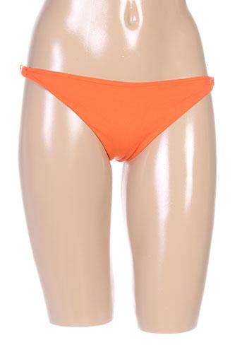 masquenada maillots de bain femme de couleur orange