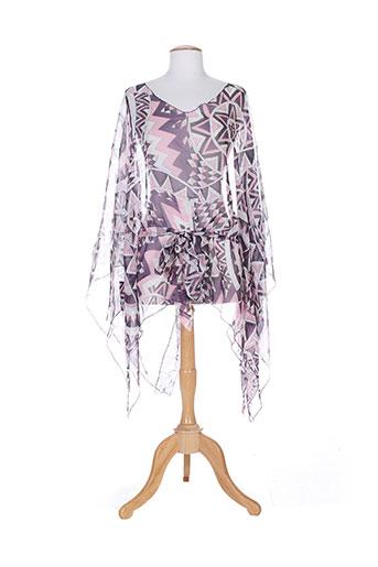 masquenada tuniques femme de couleur violet