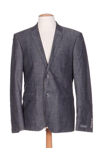 hafnium vestes homme de couleur gris
