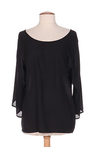 andamio chemises femme de couleur noir