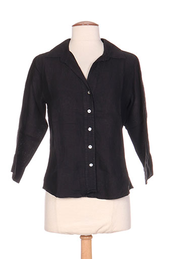 prima volta chemises femme de couleur noir