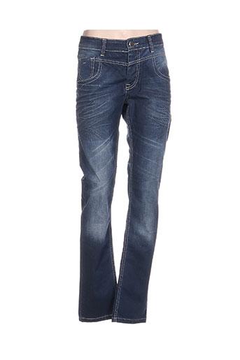 armita jeans femme de couleur bleu