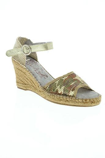 bruma chaussures femme de couleur beige