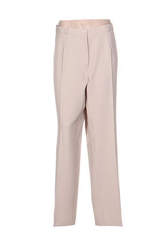 sommermann pantalons femme de couleur beige
