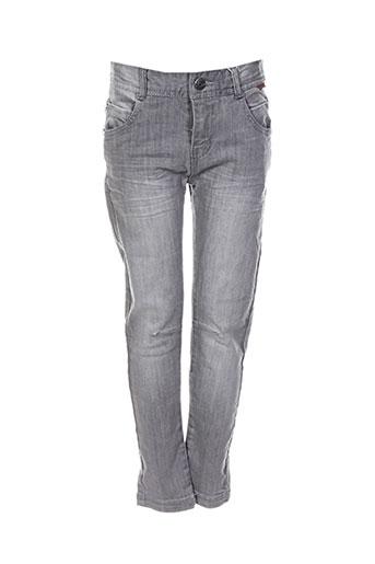 boboli jeans garçon de couleur gris