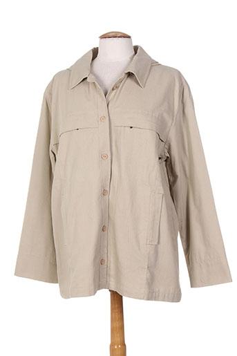 les marins de jac jac vestes femme de couleur beige