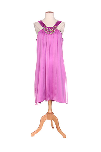 exaltation robes femme de couleur violet