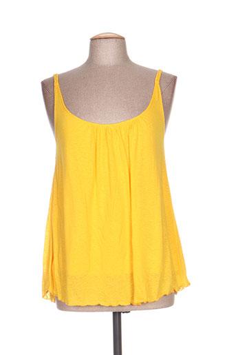 drolatic chemises femme de couleur jaune