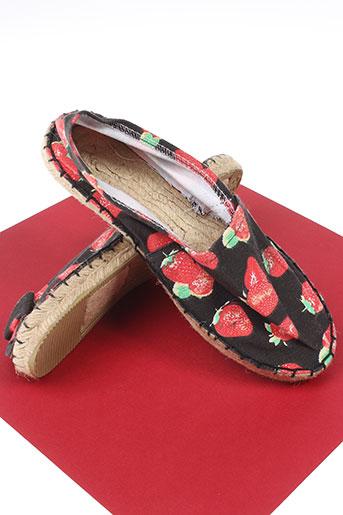 full-up chaussures femme de couleur rouge