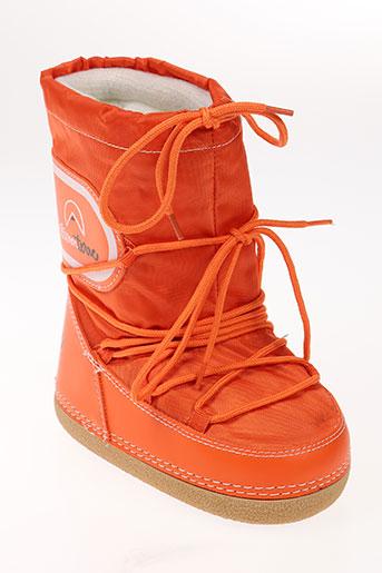 elementerre chaussures enfant de couleur orange