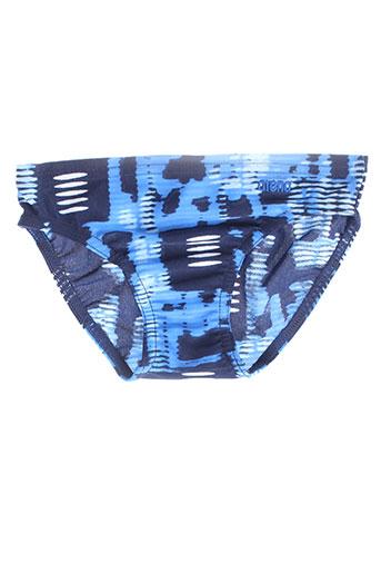 arena maillots de bain garçon de couleur bleu