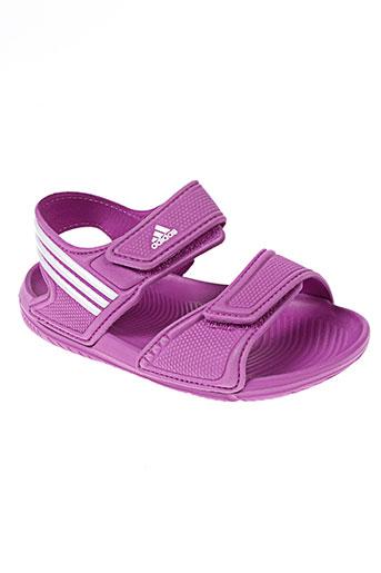 adidas chaussures fille de couleur violet