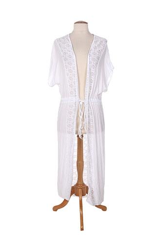 Veste casual blanc ET SI.... pour femme