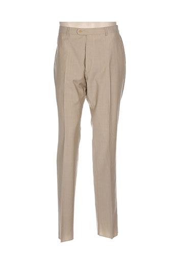 ecce pantalons homme de couleur beige