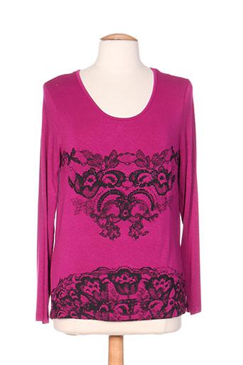 thalassa t-shirts femme de couleur violet